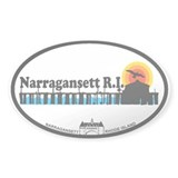 Narragansett RI - Pier Design Decal