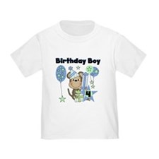 Monkey 4th Birthday T