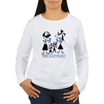 Prostate Cancer Awareness Women's Long Sleeve T-Sh