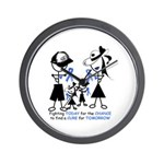 Prostate Cancer Awareness Wall Clock