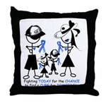 Prostate Cancer Awareness Throw Pillow