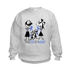 Prostate Cancer Awareness Kids Sweatshirt
