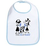Prostate Cancer Awareness Bib