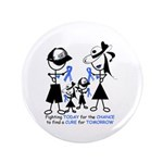 "Prostate Cancer Awareness 3.5"" Button (100 pa"