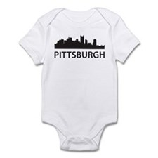 Pittsburgh Skyline Infant Bodysuit