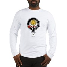 Kerr Clan Crest Badge Long Sleeve T-Shirt