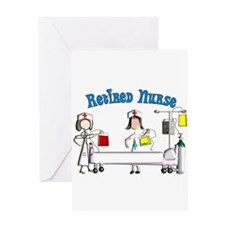 Retired Nurse Greeting Card