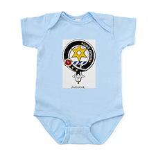 Jardine Clan Crest Badge Infant Creeper