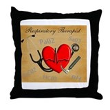 Respiratory Therapist XX Throw Pillow