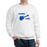 Cousins Rock! Blue Guitar Sweatshirt