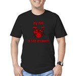 My Dad is the Drummer (drums) Men's Fitted T-Shirt