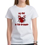 My Dad is the Drummer (drums) Women's T-Shirt