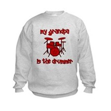 My Grandpa is the Drummer Sweatshirt