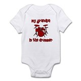 My Grandpa is the Drummer Infant Bodysuit