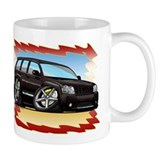 Black Grand Cherokee SRT8 Small Mug