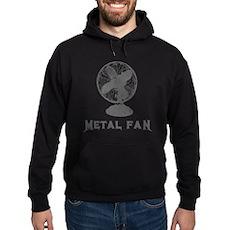Metal Fan Dark Hoodie