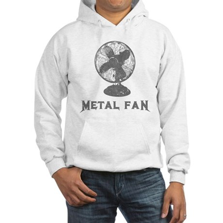 Metal Fan Hooded Sweatshirt