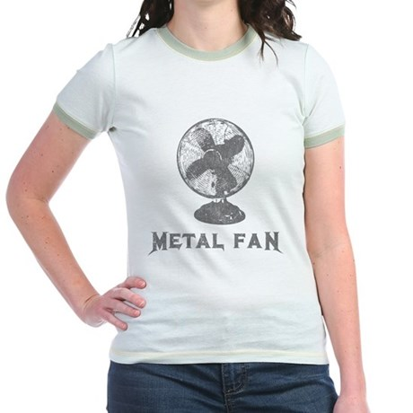 Metal Fan Jr Ringer T-Shirt