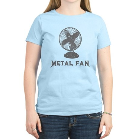 Metal Fan Womens Light T-Shirt