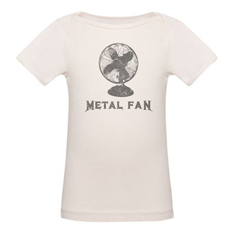 Metal Fan Organic Baby T-Shirt