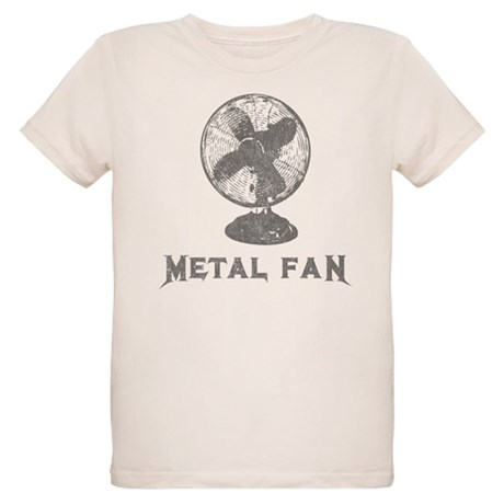 Metal Fan Organic Kids T-Shirt