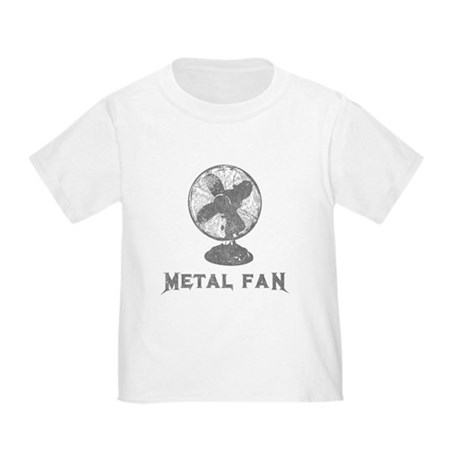 Metal Fan Toddler T-Shirt