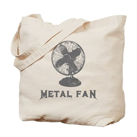 Metal Fan Tote Bag