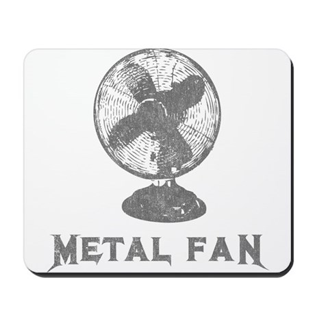 Metal Fan Mousepad