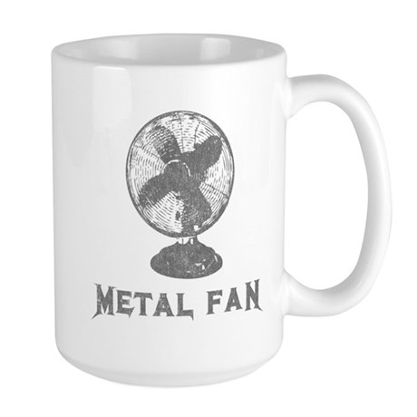 Metal Fan Large Mug