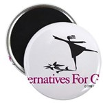 Alternatives For Girls Magnet