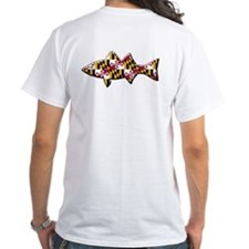 The Maryland Flag Fish Shirt