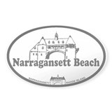 Narragansett RI - Lighthouse Design Decal