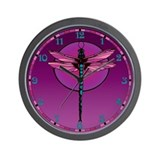 Dragonfly Clock Wall Clock