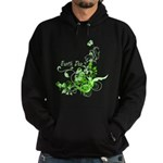 Earth Day Swirls Hoodie (dark)