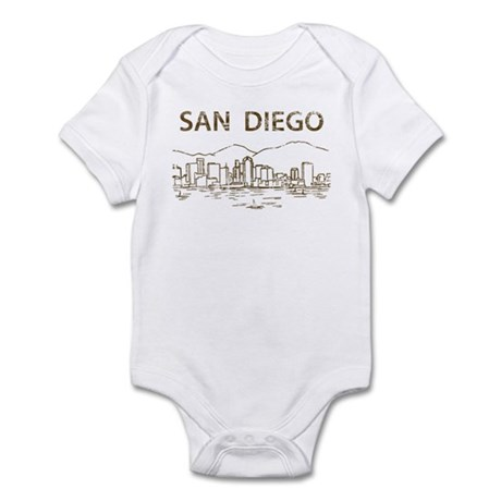 Vintage San Diego Infant Bodysuit