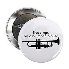 "Trumpet Player 2.25"" Button"