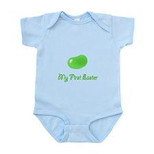 first jellybean green Infant Bodysuit