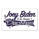 Biden & the F-Bombs Sticker (Rectangle 10 pk)