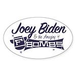 Biden & the F-Bombs Sticker (Oval 50 pk)