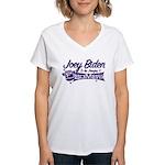 Biden & the F-Bombs Women's V-Neck T-Shirt