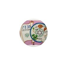 Passover Plate Mini Button