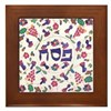 Passover Cover Framed Tile