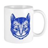 Cheshire Cat Blue Mug