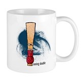 Bassoon Seeing Double Small Mug