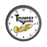 Trumpet Teacher Wall Clock