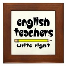 Write Right Framed Tile