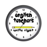 Write Right Wall Clock