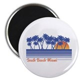 South Beach Miami Magnet