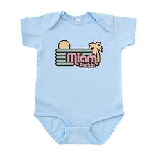 Miami Florida Infant Bodysuit