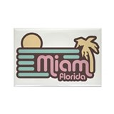 Miami Florida Rectangle Magnet